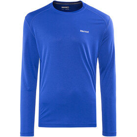 Marmot Windridge Langærmet T-shirt Herrer blå